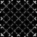 Web Grid Layout Icon