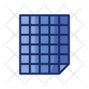 Grid Papers Papers Document Icon