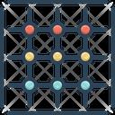 Grid Pattern Design Icon