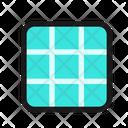 Grid Photo Icon