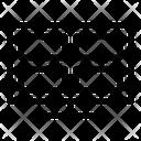 Grid Present Grid Slides Icon