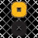 Grid Vertical Grid Menu Icon