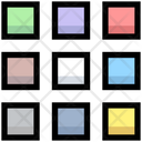 Business Financial Grids Icon