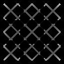 Grid Mini Grids Camera Grids Icon