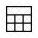 Grid Layout Seven Grid Grids Icon