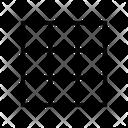 Grid Layout Six Grid Grids Icon