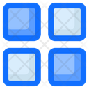 Grids Apps Thumbnails Icon