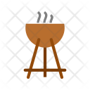 Outdoor Grill Cooking Icon
