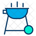 Bbq Food Frie Icon