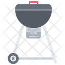 Grill Kitchen Cooking Icon