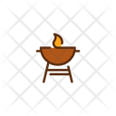 Grill Grill Machine Frie Icon
