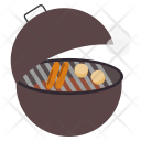 Grill Barbeque Potatoes Icon