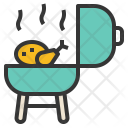 Grill chicken Icon