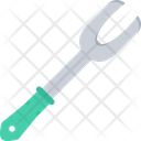 Grill Fork Grilling Meat Icon