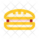 Grill Sandwich Icon
