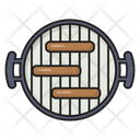 Grilled Barbecue Fried Icon