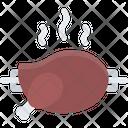 Grilled Chicken Icon