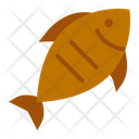 Grilled Fish Cooked Fish Fried Fish Icon