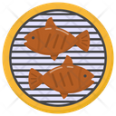 Grilled Food Grilled Seafood Grilled Fish Icon