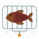 Grilled Fish Fish Grill Icon