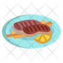 Grilled Meat Icon