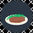 Grilled Steak Ribeye Lamb Steak Icon