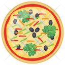 Grilled Vegetable Pizza Icon
