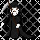 Grim Reaper Halloween Icon