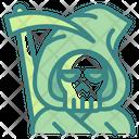 Grim Skeleton Skull Icon