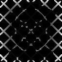 Grim Reaper Spooky Frightening Icon