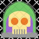 Grim Reaper Ghost Halloween Icon