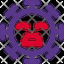 Grimacing Coronavirus Emoji Coronavirus Icon