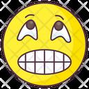 Grimacing Emoji Icon