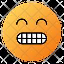 Grimacing Face Emoji Face Icon