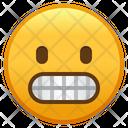 Grimacing Face Emoji Emoticon Icon