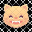Grin Cat Emoji Icon