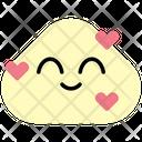 Grin Heart Emoji Emoticon Icon