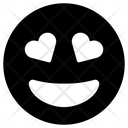 Grin Hearts Icon