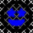 Stars Emoji Emoticon Icon