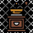 Grinder Bean Coffee Icon