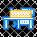 Grinding Machine Pressing Icon