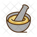Grinding Herbs Bowl Icon