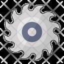 Grinding Wheel Blade Wheel Cutting Wheel Icon
