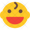 Grinning Baby Smiley Icon