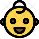 Grinning Baby Icon