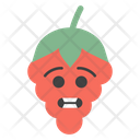 Grinning Chilli Face Icon