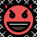 Grinning Devil Icon