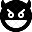 Grinning Devil Emoji Icon