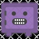 Grinning Emoji Locker Icon