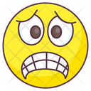 Grinning Emoji Grimacing Expression Emotag Icon